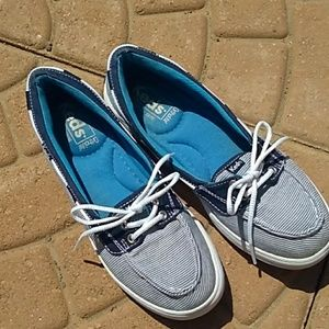KEDS Ortholite boat shoes.